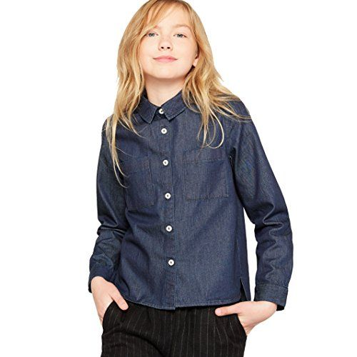 La Redoute Collections Big Boys Denim Shirt 3-12 Years