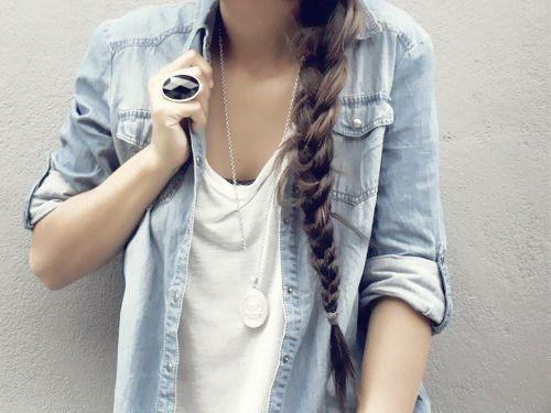 denim and braid