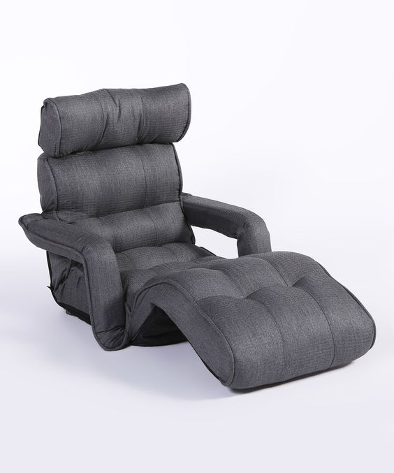 Look what I found on #zulily! Gray Three-Position Recliner Chair & Armrests by Cozy Kino #zulilyfinds