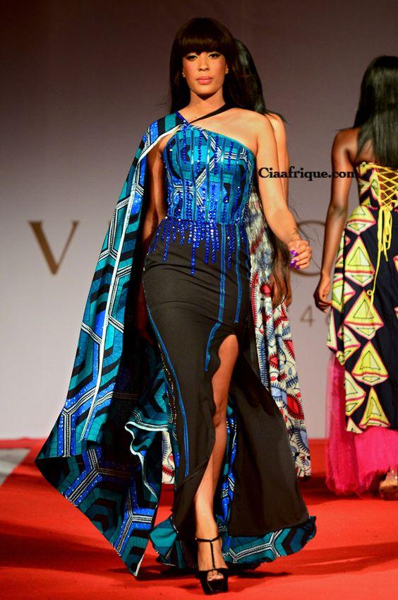 robe de soiree en pagne africain courte