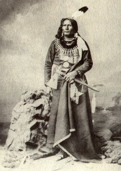 """Standing Bear  circa 1834 - 1908  Ponca tribe.   Argued successfully in  U.S. District Court in 1879 in Omaha that Native Americans are """"persons within the meaning of the law"""" and have the right to habeas corpus"""