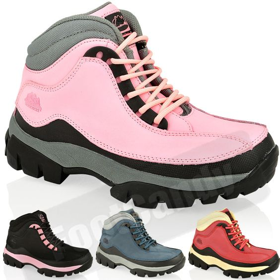Details about WOMENS LADIES STEEL TOE SAFETY WORK OUTDOOR ...