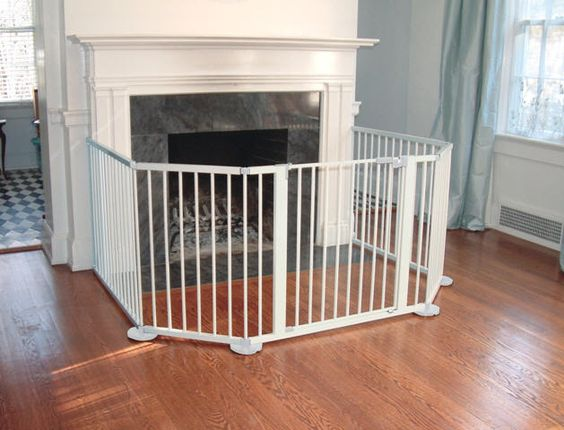 extra wide fireplace safety gate 10 feet wide. Black Bedroom Furniture Sets. Home Design Ideas