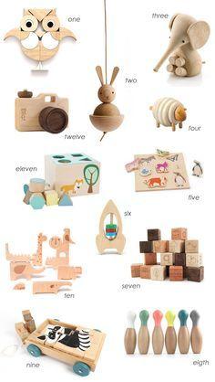 Holzspielzeug für die Kleinsten