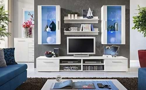 Mueble Para Tv Lcd Rack Modular Vajillero Modelo Florencia - $ 8.480,00