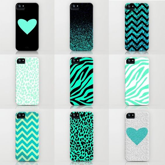 iPhone cases. I really like the sparkly ombré and the sparkly chevron cases