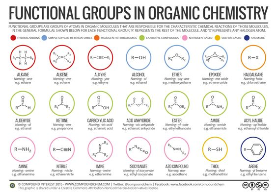 Exam season is here – if you're revising organic chemistry, here's a helpful reminder of the different functional groups! Free PDF here:http://wp.me/p4aPLT-3c