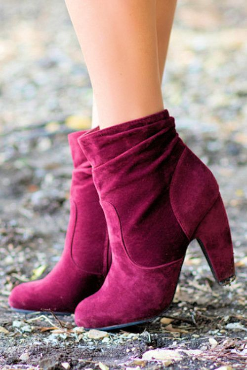 Awesome Velvet Suede Boots