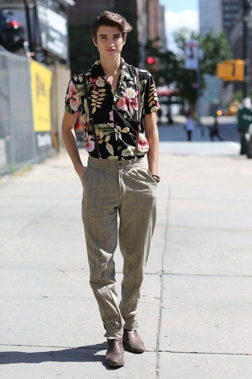 Moda masculina 1990
