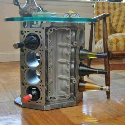 Engine Car Parts And Coffee Tables On Pinterest