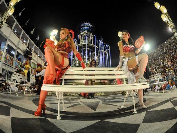 O enredo do Salgueiro é 'Ópera dos malandros' (Foto: G1/Alexandre Durão