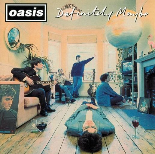 Oasis Live Forever Definitely Maybe Greatest Album Covers Oasis Album