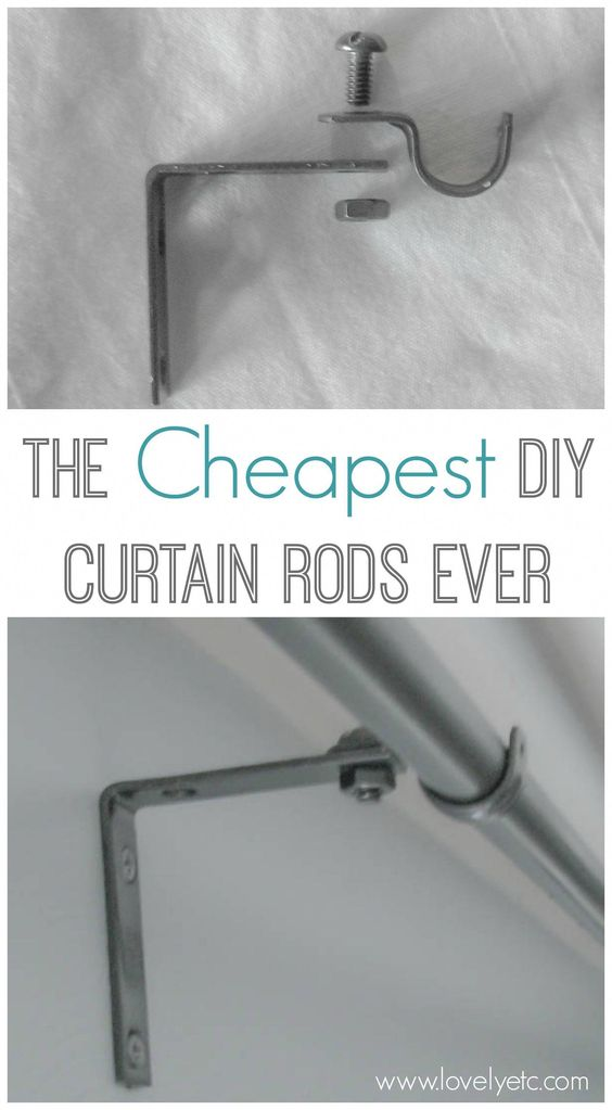 Forget Buying Expensive Curtains Rods This Diy Version Is Super