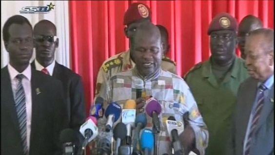 Soudan du Sud : le chef rebelle Riek Machar retrouve ses habits de vice-président