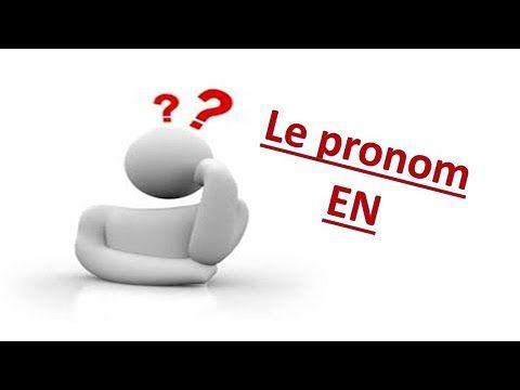 Le pronom EN  il remplace un groupe nominal introduit par de ou un complément introduit par un article partitif.