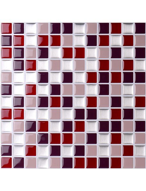Mosaic Tile Sticker Home Wall Diy Self Adhesive Decoration Stick On Tiles Peel And Stick Tile Mosaic Tile Stickers