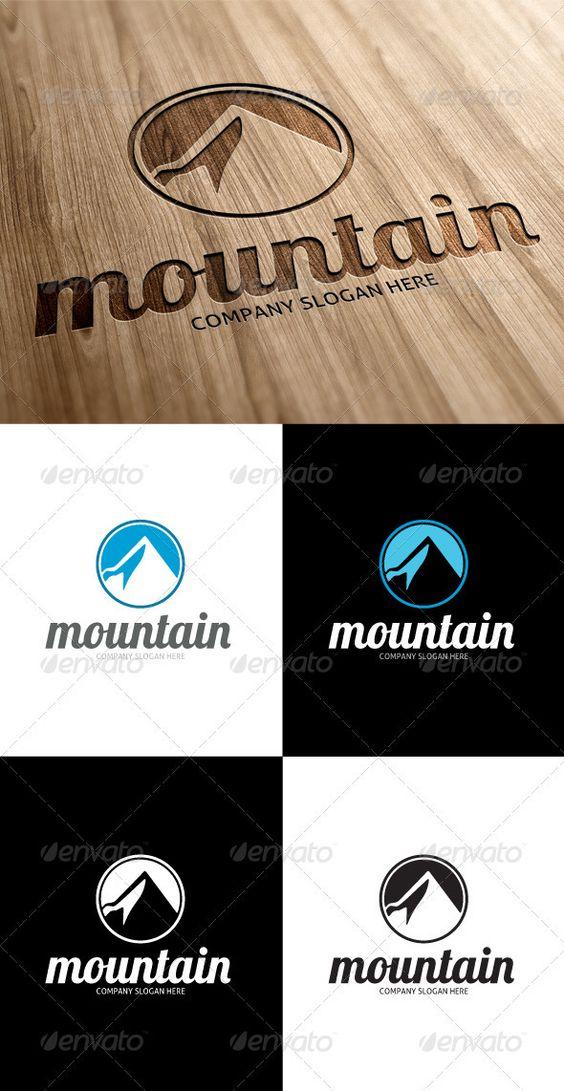 GraphicRiver Mountain Logo 3256819 http://www.webtempo.ch