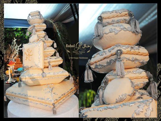 gateau piece montee mariage de luxe casablanca- rahal maître traiteur- morocco