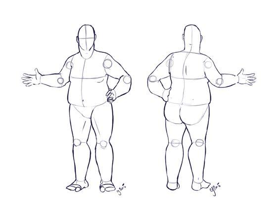 Fat Costume Design Base Commission By Illustratedjai