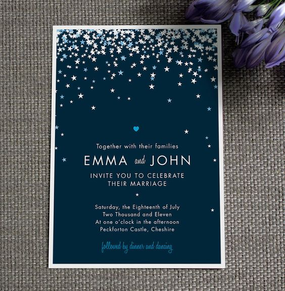 bella wedding invitation by project pretty | notonthehighstreet.com