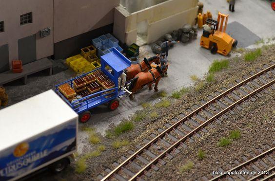 Pferdefuhrwerk in der Schweiz #MiWuLa #MiniaturWunderland