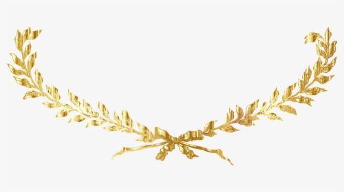 Laurel Wreath Gold Decorative Decoration Gold Laurel Wreath Png Transparent Png Gold Laurel Wreath Transparent Image