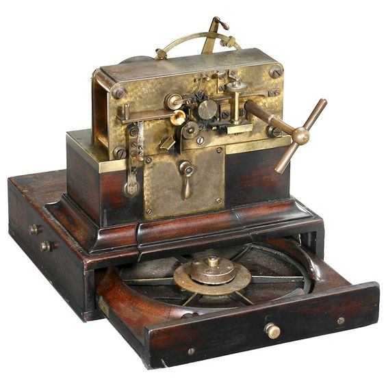 Wheatstone Speed Telegraph, c. 1875