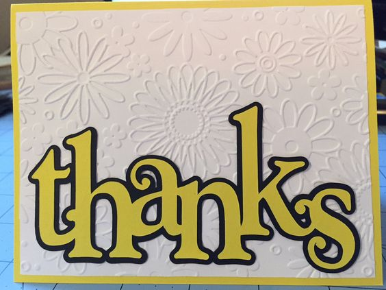 Thank You Cards by BettyLouCreations on Etsy