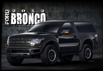 2013 ford bronco - This did not happen in 2012, so maybe 2013? Looks like this is on the Raptor platform, brilliant idea.