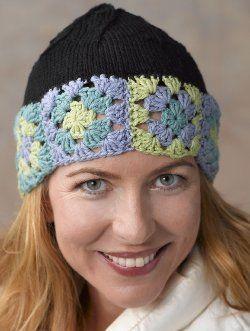 Knit and Crochet Nature Hat | FaveCrafts.com: