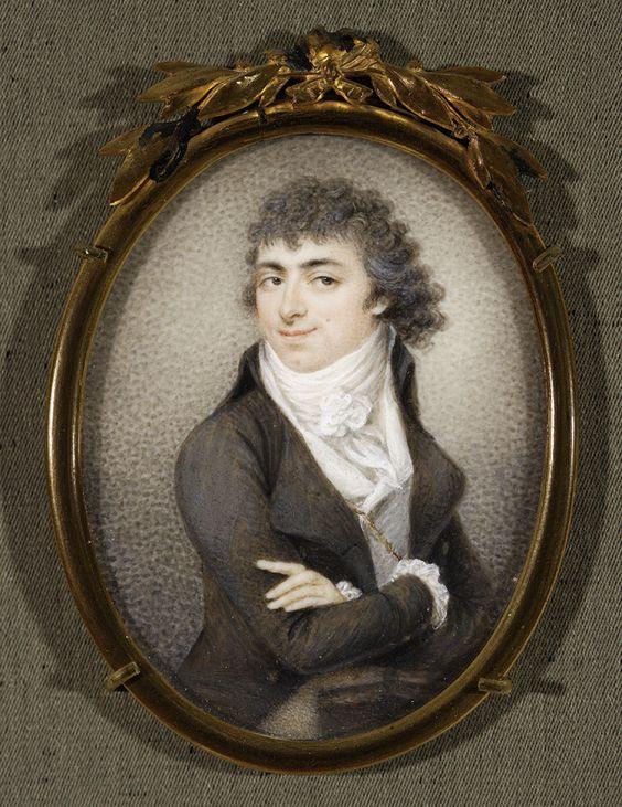 Kosiński, Józef (1753-1821) Self-portrait, 1796, Warszawa, National Museum:
