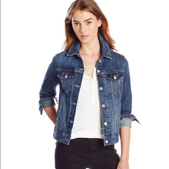 Levi's Classic Denim Jacket | Coats, Colors and Belle