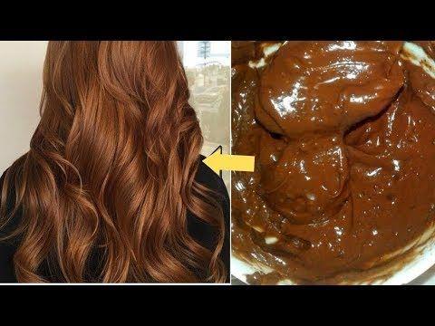 صباغة الشعر بلون البني لامع بمكونات طبيعية بدون حناء ولا اوكسجين بدون شيب Youtube Beauty Recipes Hair Hair Beauty Hair Styles