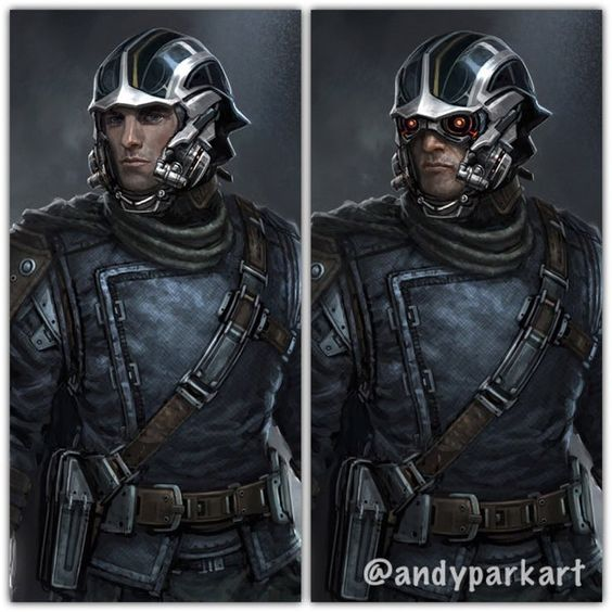 Star Lord Helmet Concept Art