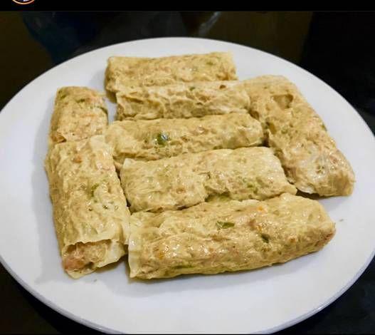 Resep Hekeng Ayam Udang Oleh Annora Kitchen Resep Memasak Dim Sum Makanan
