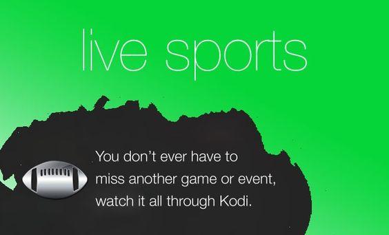 How-To Watch Live Sports on Kodi or XBMC
