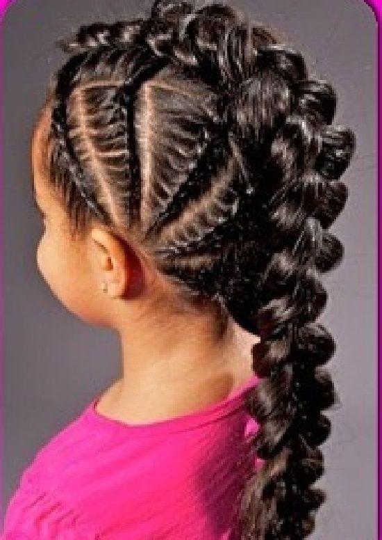Brilliant Long Hair Girl Hair And Black Little Girls On Pinterest Short Hairstyles For Black Women Fulllsitofus