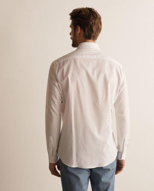 Camisa de hombre classic lisa blanca en 2020 | Camisas