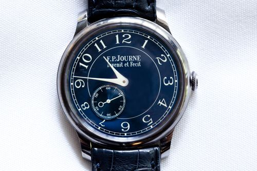 VIDEO: Talking Watches With J.J. Redick - F.P. Journe Chronometre Bleu.
