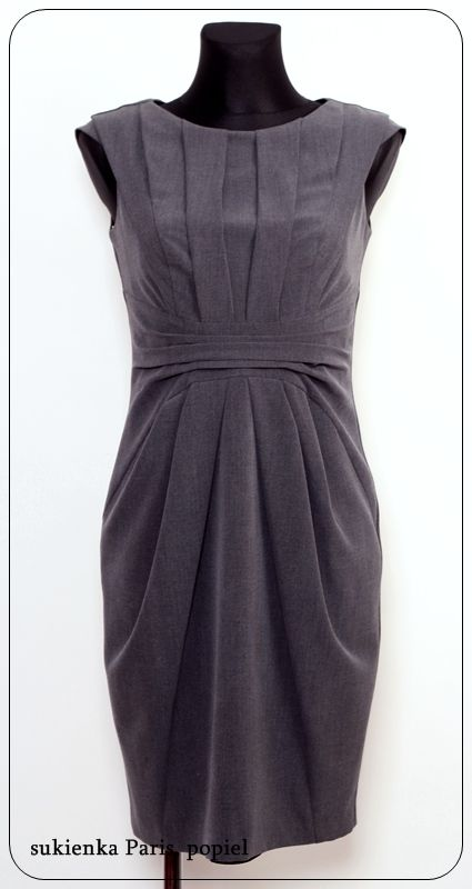 grey dress by RH+ (and it's already mine :D )