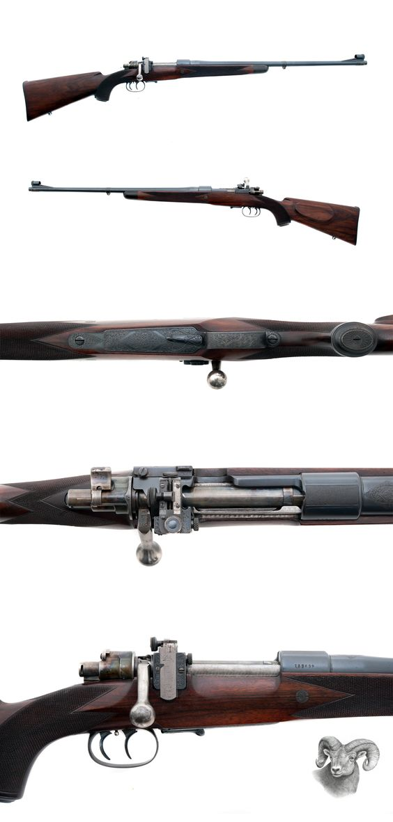 Griffin & Howe - Mauser 98 Custom - .30-'06 caliber