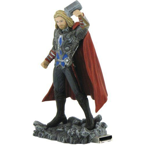 MARVEL AVENGERS MR-Z08GTH-C USB DRIVE (THOR; 8GB) by Marvel. $22.99. MARVEL AVENGERS MR-Z08GTH-C USB DRIVE (THOR; 8GB)FEATURES A REALISTIC REPLICA OF A MARVEL(R) COMIC SUPERHERO; USB DRIVE EMBEDDED IN THE BASE; THOR; 8GB