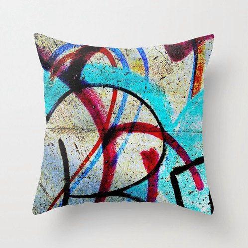 NEW graffiti Art Decorative throw pillow cover - Modern pillow cover - couch pillow - decorative pillow - indoor pillow