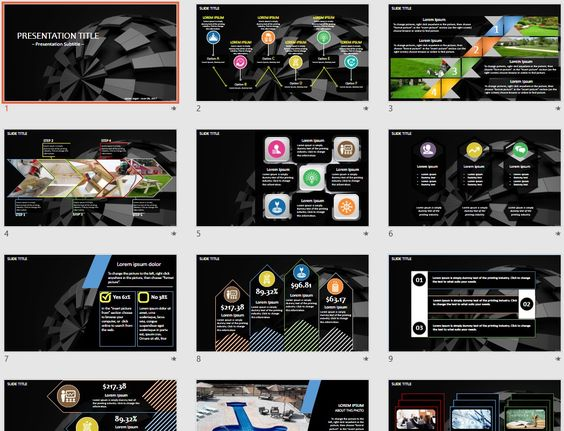 3d PowerPoint by SageFox Themed PowerPoint by SageFox - 3d powerpoint template