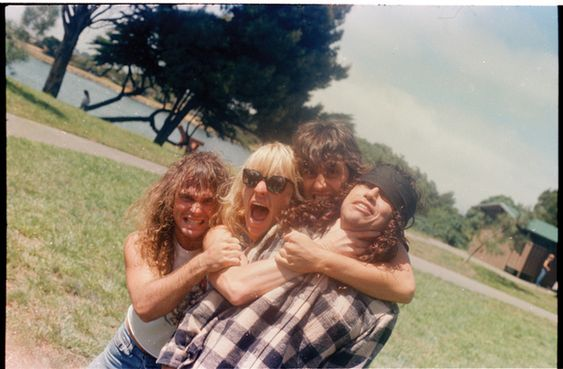 Rare Photos From The Early Days Of Metallica