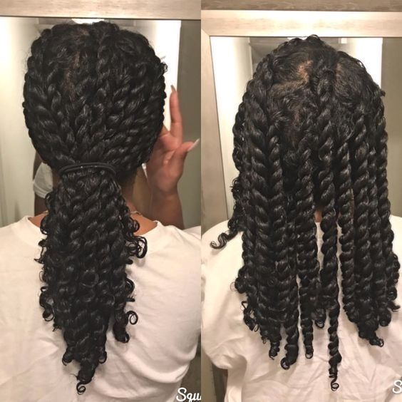 43 Protective Hairstyles For Natural Hair In 2020 Long Natural Hair Protective Hairstyles For Natural Hair Natural Hair Styles