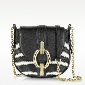 Diane Von Furstenberg - Mini Leather Crossbody Bag Sutra Zebra Patchwork - $172.50 (50% off)