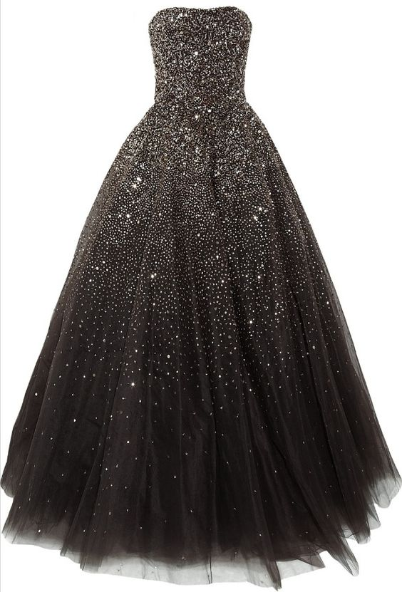 Pretty black sparkle prom dress  Classy Not Trashy  Pinterest ...
