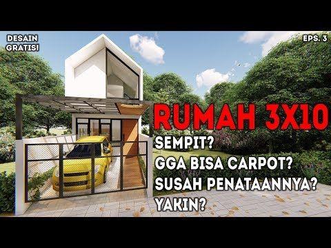 Desain Rumah Minimalis 3x10 Sempit Buktikan Sendiri Isi Dalamnya Youtube Desain Rumah Kontemporer Desain Depan Rumah Rumah Kontemporer Hotel room design 4x6 desain