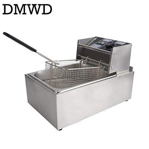 6L 2500W Commercial Electric Deep Fryer Kitchen Restaurant Frying Chip w//  CA